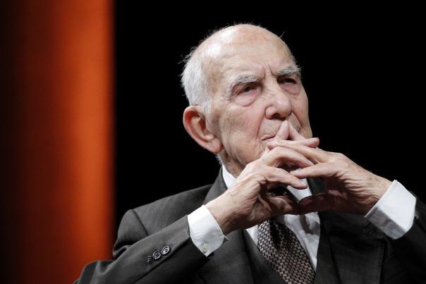 Stéphane Hessel en janvier 2012 (Stéphane Mahe/Reuters)